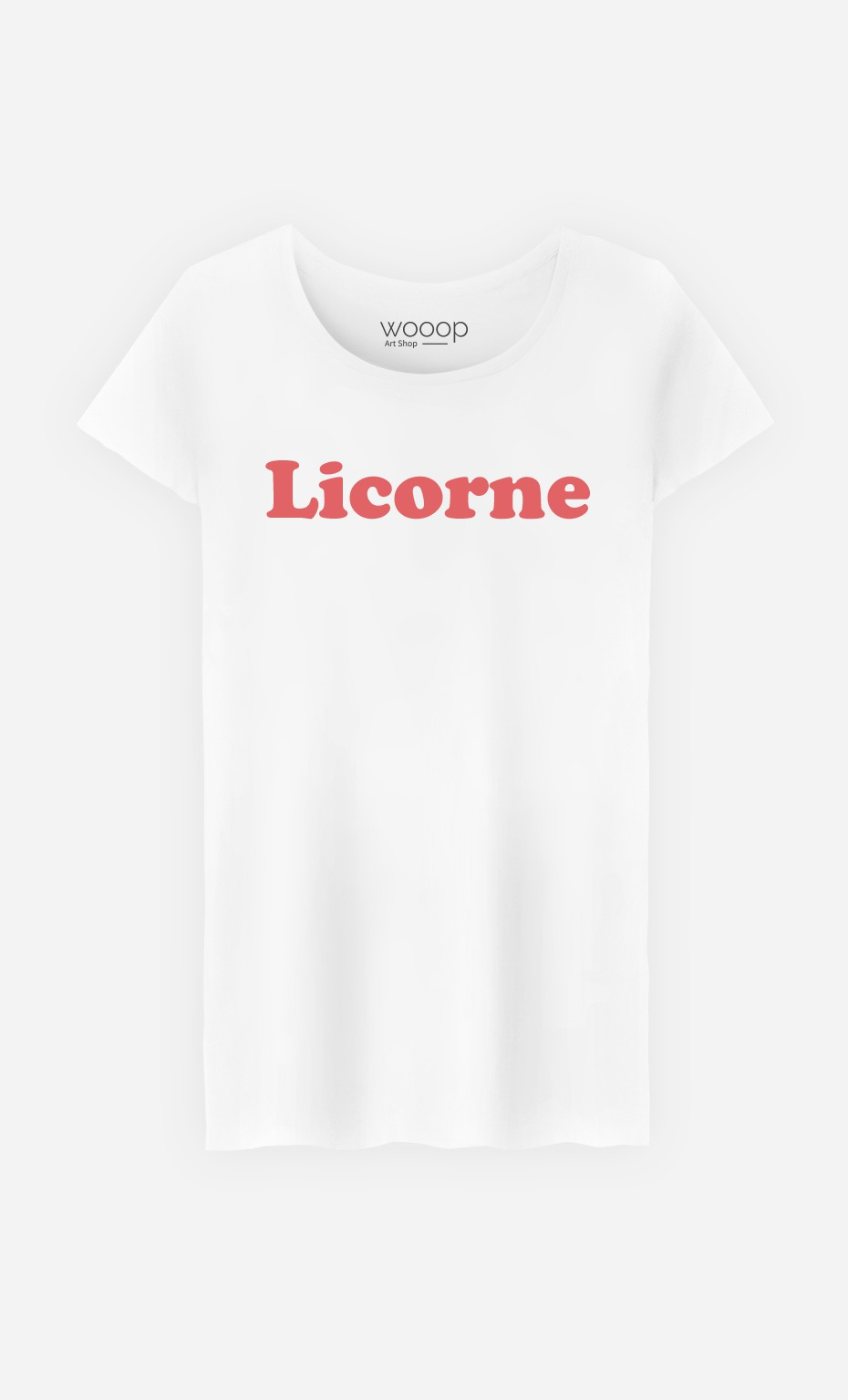 T-Shirt Femme Licorne