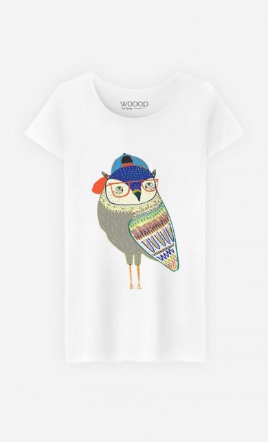 T-Shirt Owl Coolest