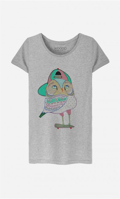 T-Shirt Femme Awesome Owl