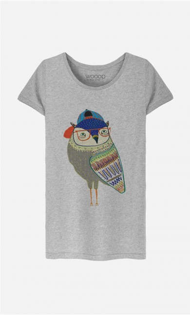 T-Shirt Femme Owl Coolest