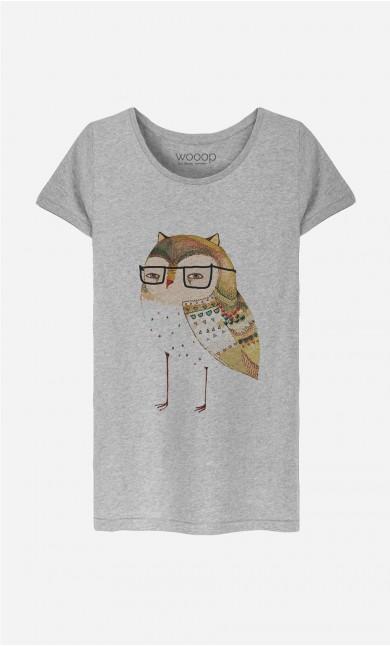 T-Shirt Femme Little Owl