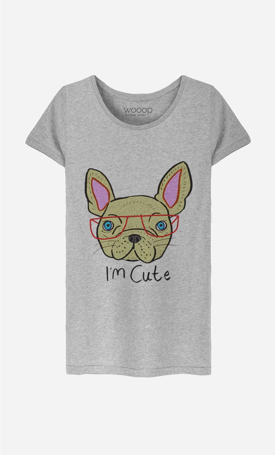 T-Shirt Femme I Am Cute