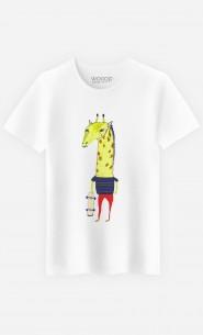 T-Shirt Homme Giraffe Dude