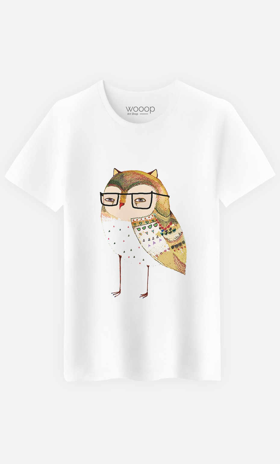 T-Shirt Homme Little Owl