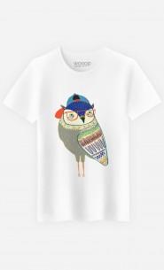 T-Shirt Homme Owl Coolest