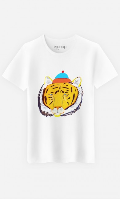 T-Shirt Homme Tiger Head