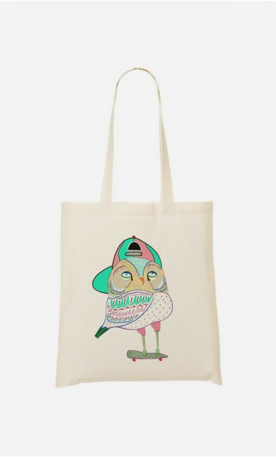 Tote Bag Awesome Owl