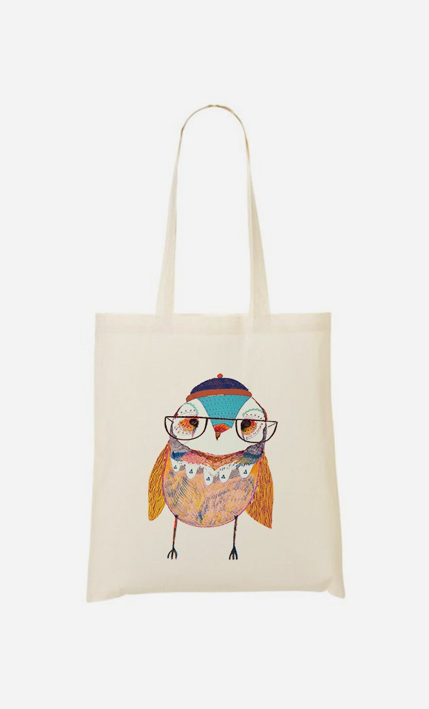 Tote Bag Bobble Hat Owl