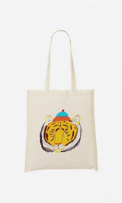 Tote Bag Tiger Head