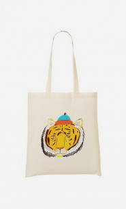 Tote Bag Tiger Head