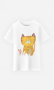 T-Shirt Enfant Cat And Mouse