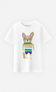 T-Shirt Enfant French Bulldog Skater
