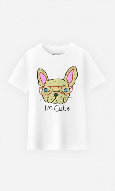 T-Shirt Enfant I Am Cute