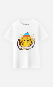 T-Shirt Enfant Tiger Head