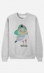 Sweat Femme Awesome Owl