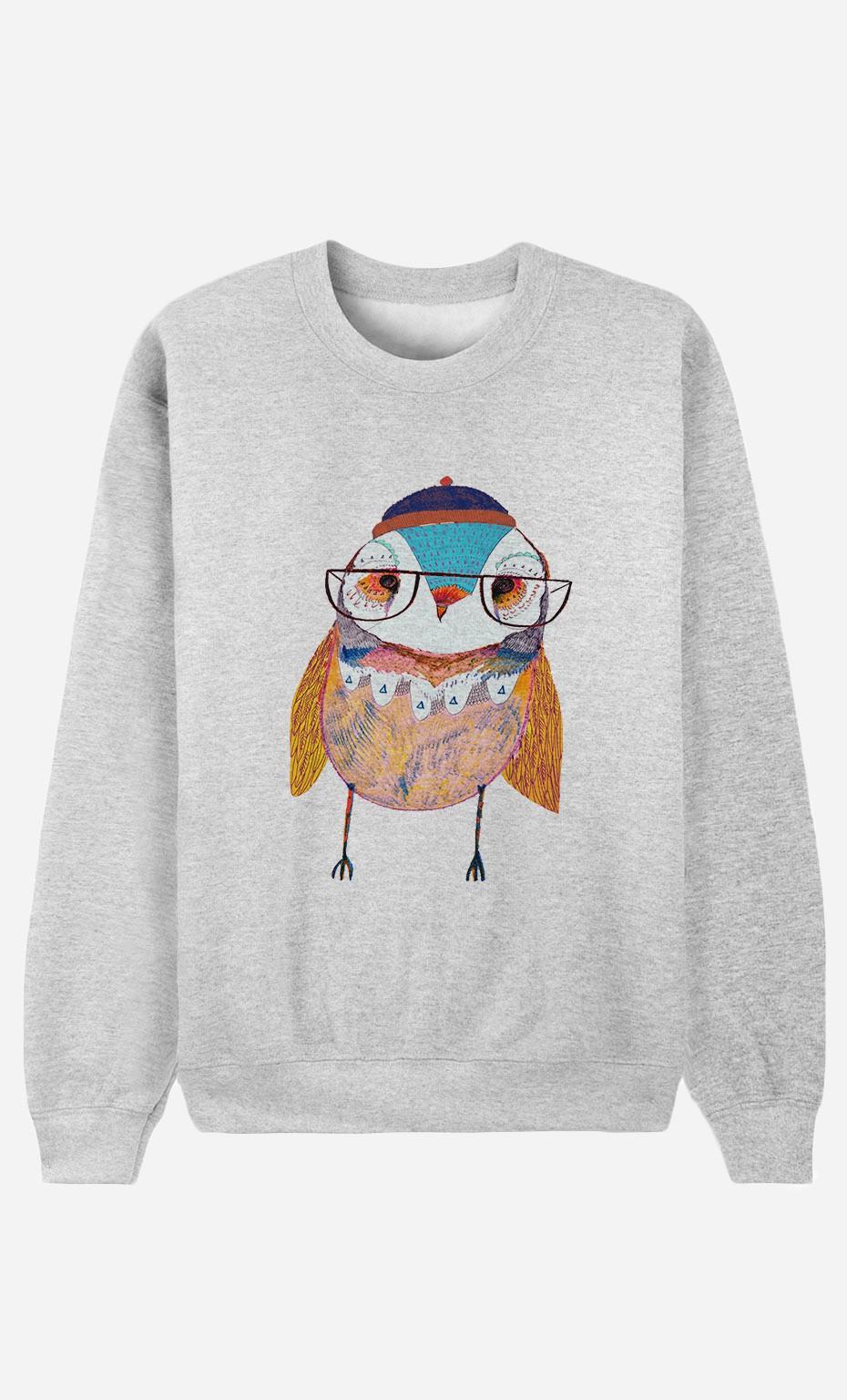 Sweat Bobble Hat Owl