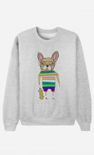 Sweat French Bulldog Skater