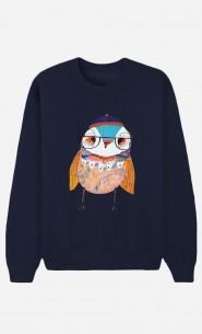 Sweat Femme Bobble Hat Owl