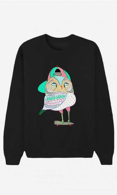 Sweat Noir Awesome Owl