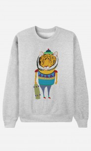 Sweat Homme Tiger Skater