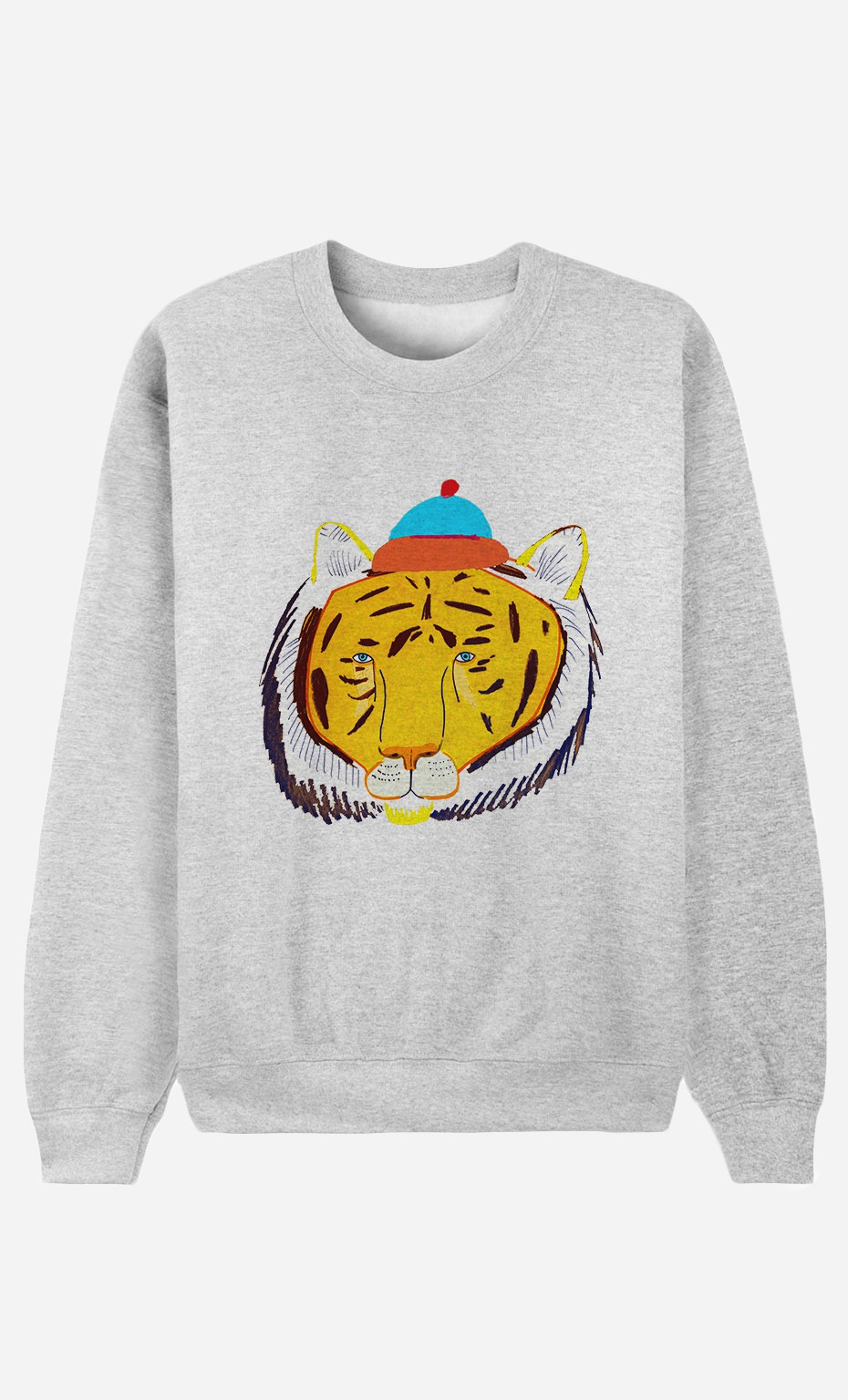 Sweat Tiger Head