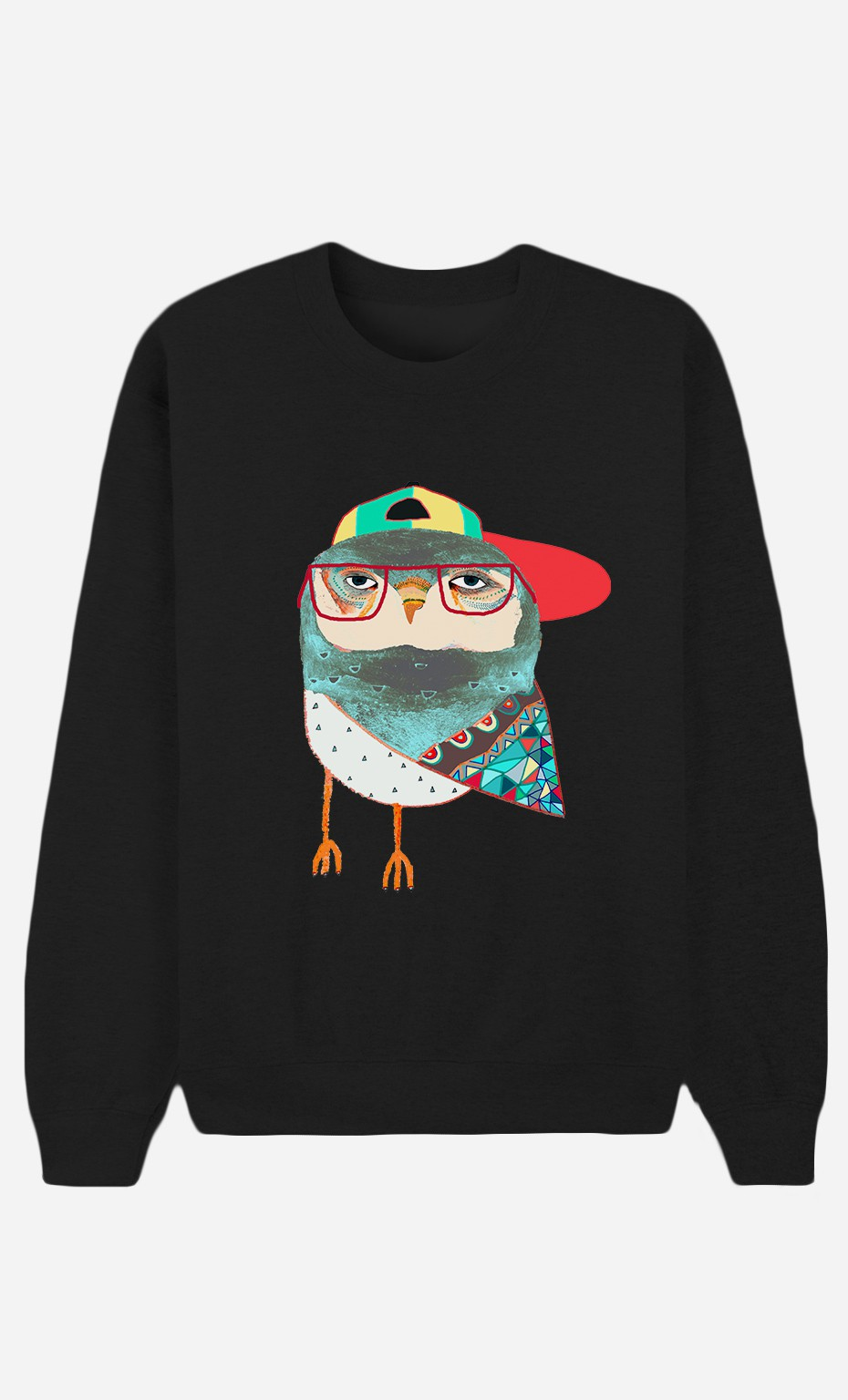 Sweat Noir Hip Owl