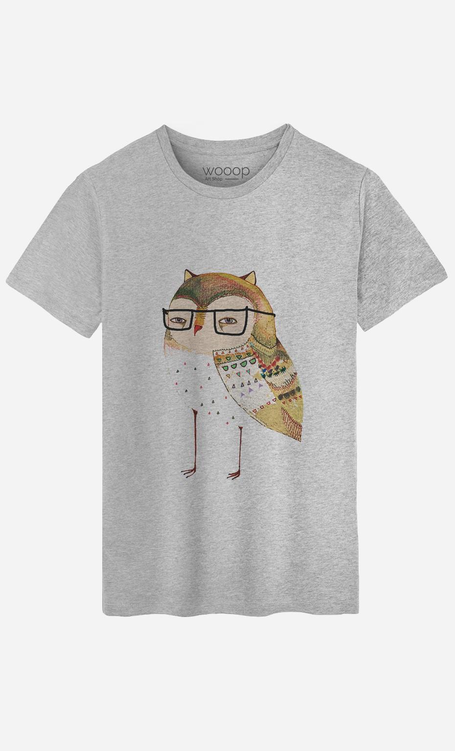 T-Shirt Homme Little Owl