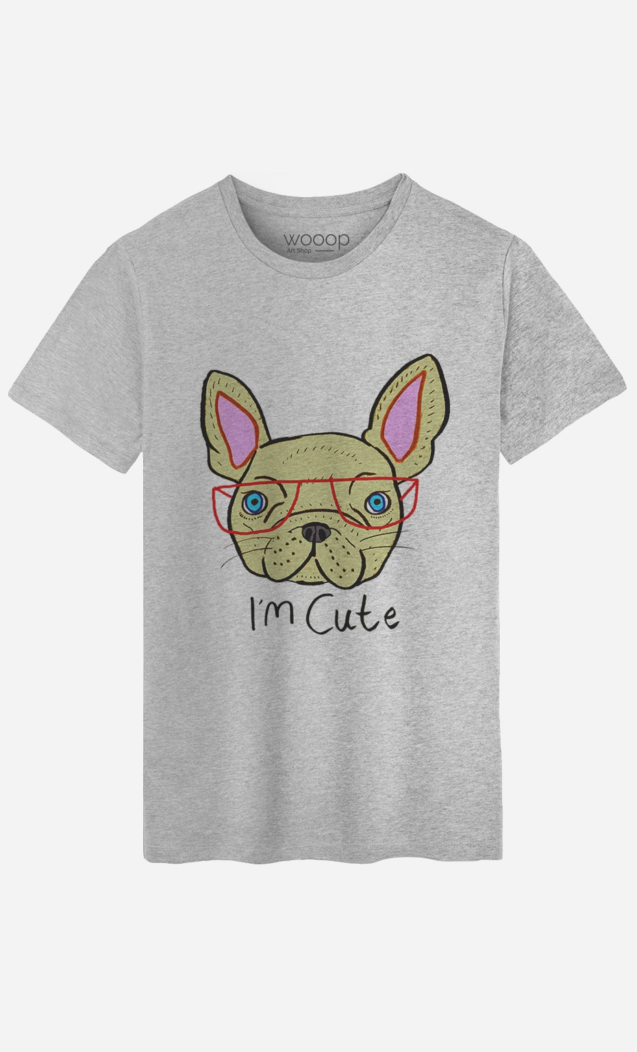 T-Shirt Homme I Am Cute