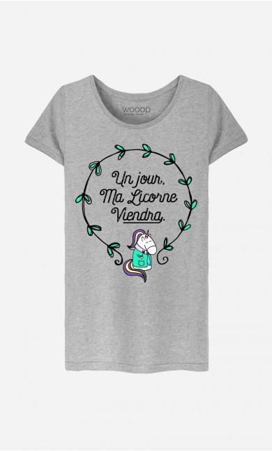 T-Shirt Un Jour Ma Licorne Viendra