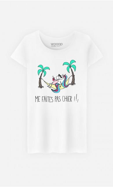 T-Shirt Femme Me Faites Pas Chier