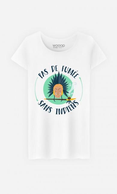 T-Shirt Pas de Fumée Sans Indiens