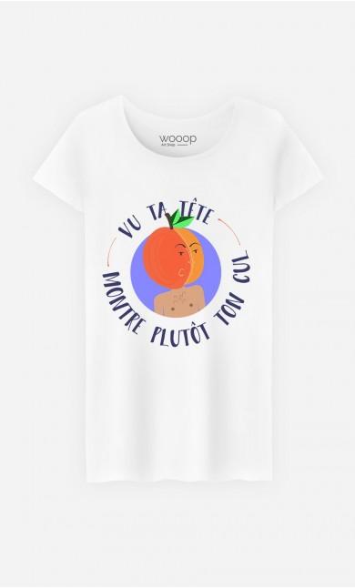 T-Shirt Femme Vu Ta Tête