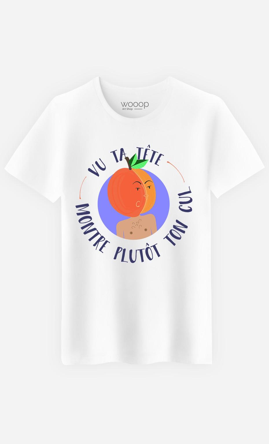T-Shirt Homme Vu Ta Tête
