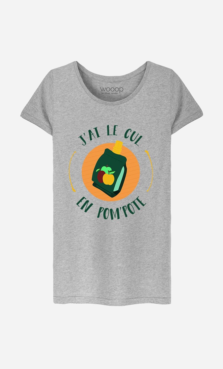 T-Shirt Femme Pom Pote