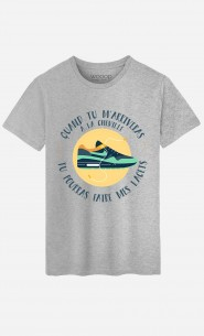 T-Shirt Homme Quand tu M'arriveras à La Cheville
