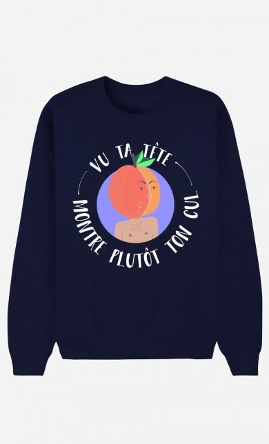 Blue Sweater Vu Ta Tête