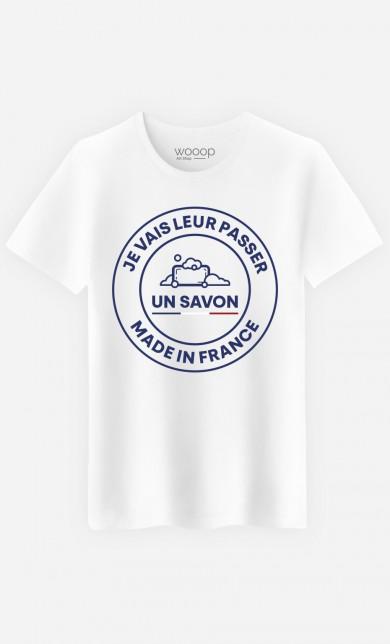 T-Shirt Je Vais Leur Passer Un Savon Made In France