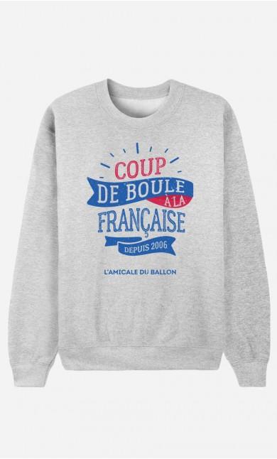 Sweat Homme Coup de Boule à la Française