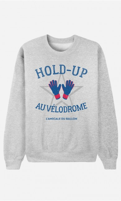 Sweat Homme Hold-Up au Vélodrome