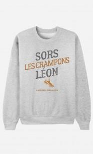 Sweat Homme Sors Les Crampons Léon