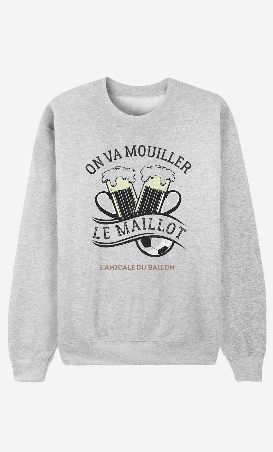 Sweat Femme On Va Mouiller le Maillot