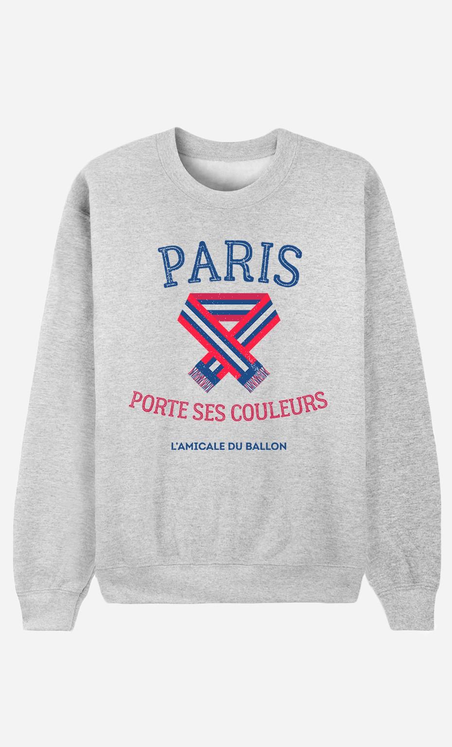 Sweat Paris Porte ses Couleurs