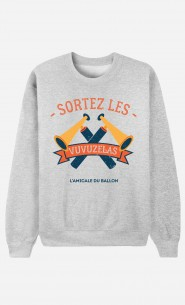 Sweat Femme Sortez Les Vuvuzelas