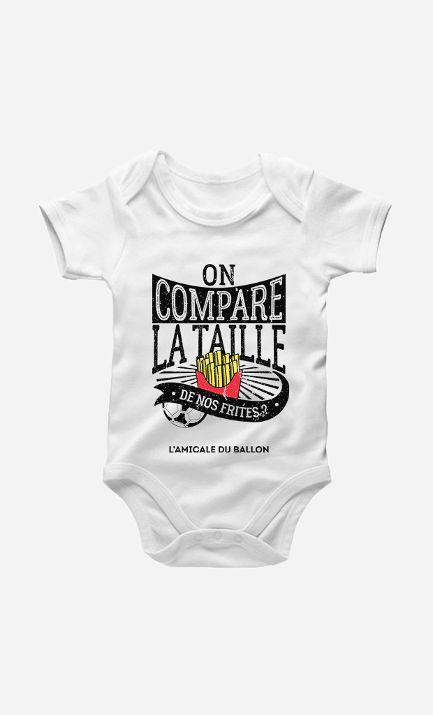 Body On Compare la Taille de Nos Frites