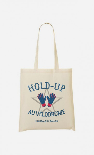 Tote Bag Hold-Up au Vélodrome