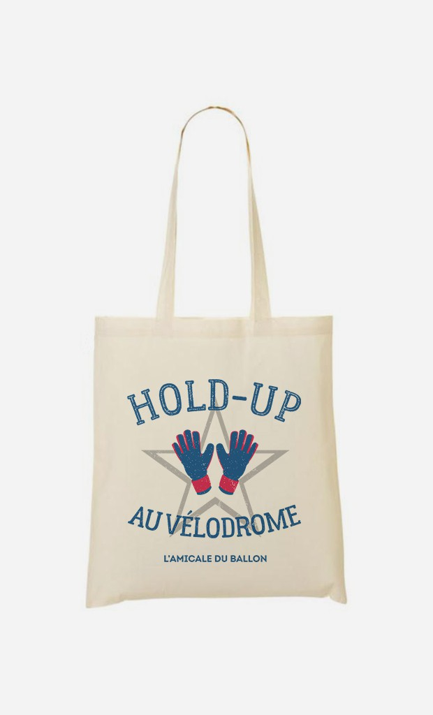 Tote Bag Hold-Up au Vélodrome