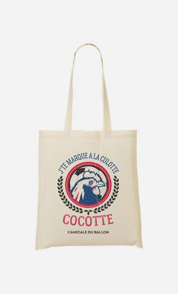 Tote Bag J'te Marque à la Culotte Cocotte