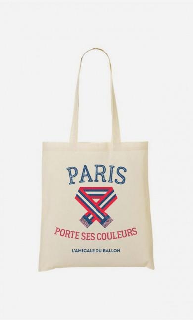 Tote Bag Paris Porte ses Couleurs