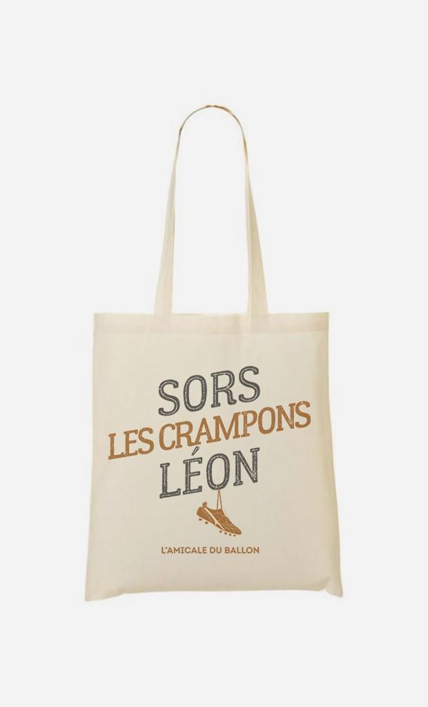 Tote Bag Sors Les Crampons Léon