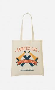 Tote Bag Sortez Les Vuvuzelas